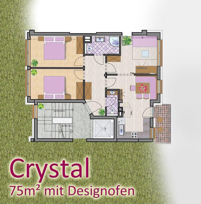 Ferienwohnungen mit 3 Schlafzimmer, direkt am Schilift